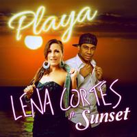 LENA CORTES faet. SUNSET - Playa